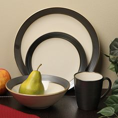 Sango 16-piece Bistro Cream Dinnerware Set - Overstock™ Shopping - Great Deals on Sango Casual Dinnerware