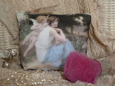Makeup Bag Zipper Pouch for Bits and Bobs etc.. by Maisonvogue, $25.00