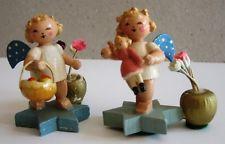 Rare Antique Erzgebirge craftsmen Angels
