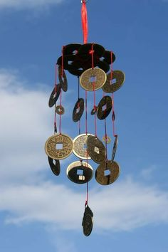 Chinese Coin Wind Chime - The Wind Chime Shop Limited