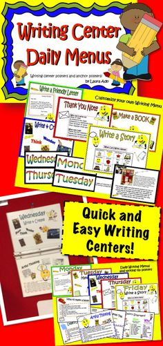 This is a great way to manage writing centers!