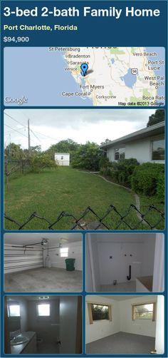 3-bed 2-bath Family Home in Port Charlotte, Florida ►$94,900 #PropertyForSale #RealEstate #Florida http://florida-magic.com/properties/13449-family-home-for-sale-in-port-charlotte-florida-with-3-bedroom-2-bathroom