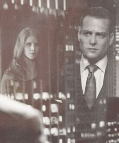 Donna Paulsen and Harvey Specter, partners in crime.