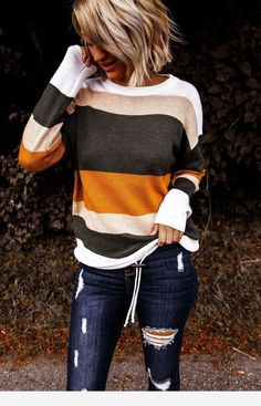 Very cute blouse for fall days - Fall winter outfits - Cute Fall Outfits, Fall Winter Outfits, Autumn Winter Fashion, Casual Outfits, Work Outfits, Look Fashion, Fashion Outfits, Womens Fashion, Fashion Black