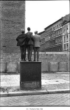 Henri Cartier-Bresson, The Berlin Wall 1962