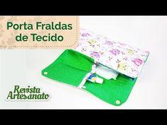 Porta Fraldas de Tecido - Passo a Passo - YouTube