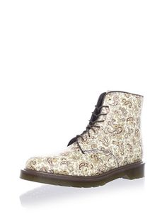 45% OFF Dr. Martens Women's Jeffery Paisley Boot (Beige/Brown)