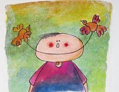 een natuurlijke glimlach van insidemyframe op DaWanda.com