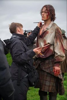"Jarett Wieselman on Twitter: ""#Outlander S3 is filming & Starz sent this pic…"