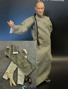 Clothes Kung Fu Set for Enterbay Bruce Lee, Jet Li, Donnie Yen Figure Jet Li, Martial Arts Movies, Child Actors, Martial Artist, Chinese Clothing, Bruce Lee, Best Actor, Chinese Style, Kung Fu