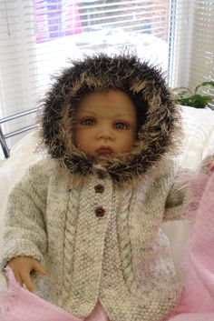 PDF Baby knitting pattern with pictures two hood by JaminaRose, £3.00