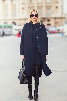 newest d0b47 88f5c  streetstyle  fashion  style  womenstyle  womenswear  blue  black  coat