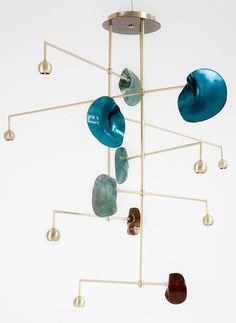 Envie du jour : le lustre du Kiln Design Studio