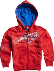 2013 Fox Racing Collateral Kids Zip Casual Motocross MX Apparel Insulated Hoody