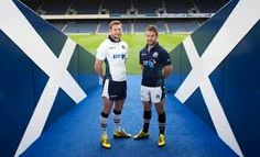 Finn Russell and Greig Laidlaw