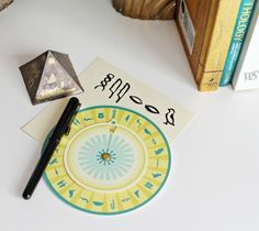 Egyptian Crafts for Kids - Hieroglyphs, Mummy, and King Tut Printables - Hieroglyphic Decoder Wheel