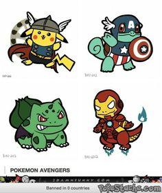 Pokemon avengers