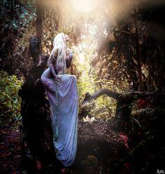 amalthea, summoned. surreal fantasy portrait lady amalthea the last unicorn photograph print. via Etsy.  | followpics.co