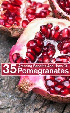 35 Amazing Benefits And Uses Of Pomegranates