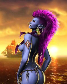 Summergale by ~Miracula  World of Warcraft - Troll