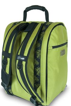 Glo Bag: Ladies Gym Locker Organizer Bag in Lime Green -- Quickly view this special  product, click the image : Travel Backpack