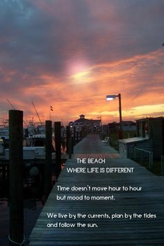 life is different at the beach quote