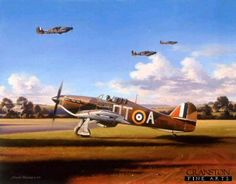 Bob Stanford-Tuck Tribute Folio by Nicolas Trudgian.  Bob Stanford-Tuck waits at dispersal in his 257 Squadron Hurricane during the Battle of Britain. Promoted to command 257 Squadron, Bob was one of the Battle of Britains leading Aces. 16