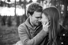 Winter woodland engagement shoot at sunset in Thorndon Country Park Brentwood Essex by Anesta Broad Photography