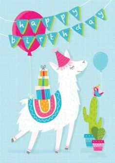 'Llama Drama' - Birthday card template you can print or send online as eCard for free. Personalize with your own message, photos and stickers. Birthday Card Sayings, Birthday Cards For Boys, Happy Birthday Images, Happy Birthday Greetings, Birthday Card Online, Happy Birthday Llama, 12th Birthday, Diy Birthday, Birthday Parties