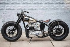 Nice and lovely classic Triumph Bobber by Choppahead