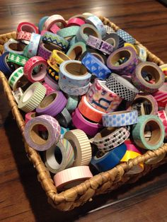 Washi grab bag, since I have no clue where to start! Tapas, Design Tape, Washi Tape Crafts, Washi Tapes, Plum Paper, Creation Deco, Erin Condren Life Planner, Planner Organization, Organizing