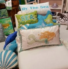 Everything Coastal....: Beach House Decor Discoveries at Summer Markets!  Lots of great finds at this link.