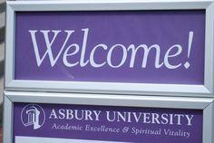 Asbury University new students