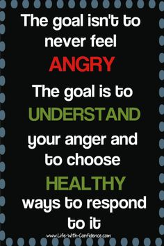 "With all the ""Be Positive"" messages out there, it can feel wrong to get angry, but it's okay to feel anger and it's healthy. Positive Messages, Positive Quotes, Anger Management Quotes, Anger Management For Adults, Wisdom Quotes, Life Quotes, Dealing With Anger, Coaching, Coping Skills"