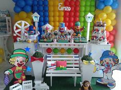 Festa do Patati Patatá para o Enzo