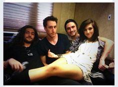 Christina and the best band !