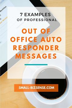 Creating autoresponder email messages while you are out of the office is essential in business. Here are 7 examples that you can use as a reference.