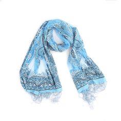 Girlie-Stuff | shawl blauw