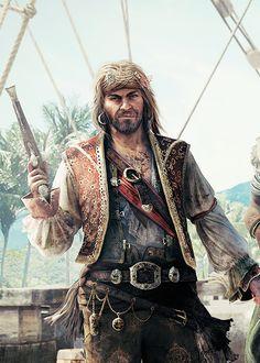 """Pirata do Mês - John """"Calico Jack"""" Rackham"""