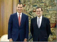Cuadernos de derecho Penal Enrique Antonio Schlegel: Rajoy acepta el encargo del Rey de someterse a la ...