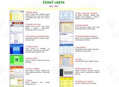 speciál: Český jazyk kompletně - online Art School, Language, Bullet Journal, Education, Homeschooling, Literatura, Languages, Onderwijs, Learning