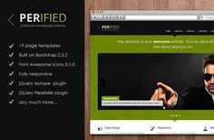 Perified. Bootstrap Themes. $12.00
