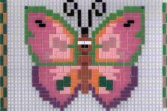 Ministeck 314494 Komische dieren Vlinder +/- 750 delig - DeSpeelgoedzaak.nl