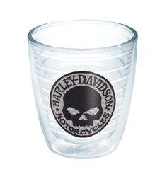 Harley-Davidson® Willie G Skull Emblem 12oz Tervis Tumbler