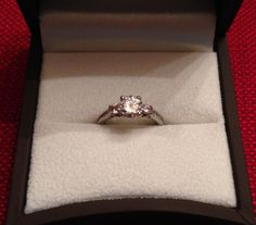Why My Engagement Ring Has Moissanites Instead Of Diamonds Moissanite, Wedding Rings, Engagement Rings, Diamonds, Jewelry, Enagement Rings, Jewlery, Jewerly, Schmuck