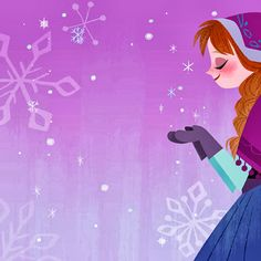Disney Frozen picture book illustrations