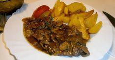 Keď občas môj manžel nakupuje a donesie mäso, nemusím sa ani pozrieť a viem, že to je krkovička. Preferuje ju pred všetkými ostatnými... Pot Roast, Steak, Pork, Beef, Ethnic Recipes, Carne Asada, Kale Stir Fry, Meat, Roast Beef