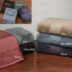 650 GSM Kassasoft Supima Cotton Bath Towels