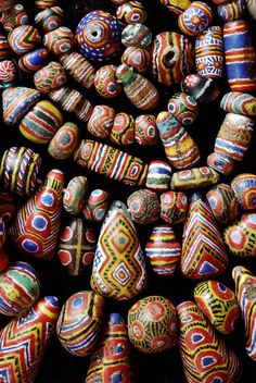 Kiffa Beads | One of the photos from Jack DeWitt beautiful series of old bead. Many of the photographs are beads and bead sample cards from the collection of John and Ruth Picard and can be seen at their bead museum in Carmel Valley California. | Jack offers these bead photo either as a blank cards with envelope, or some are also available as striking enlargements.