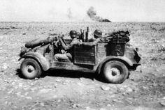 Kubelwagen of the DAK.